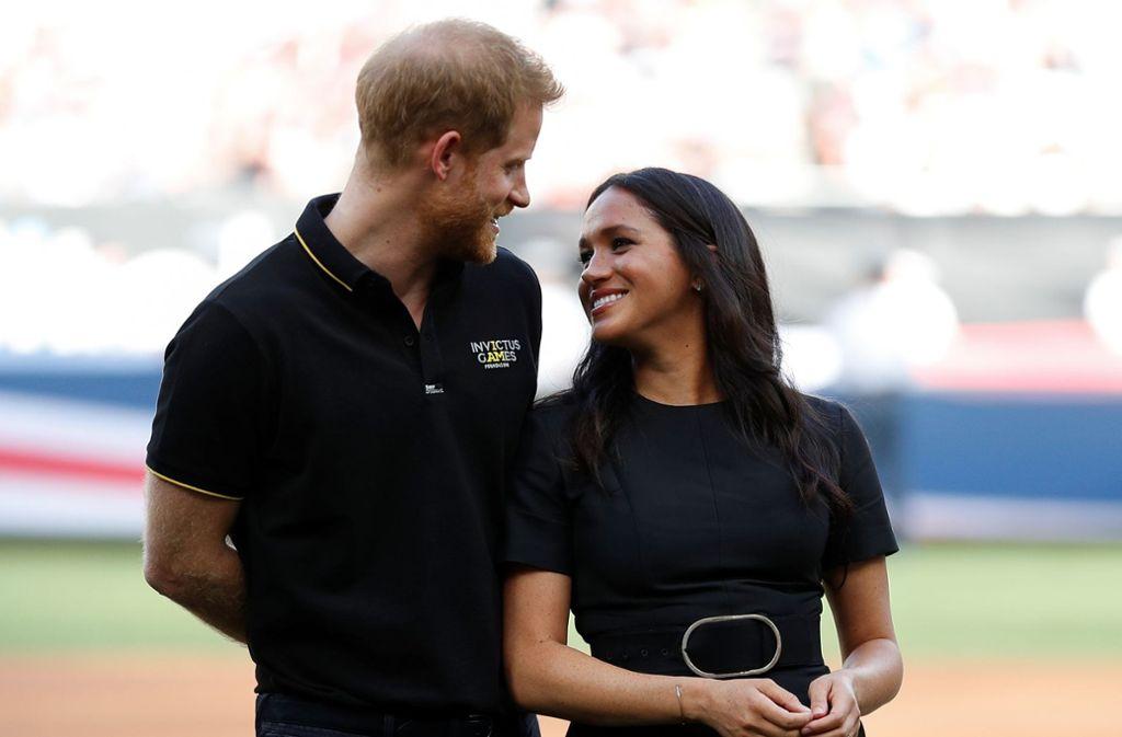 Am 6. Juli lassen Herzogin Meghan und Prinz Harry ihren kleinen Sohn Archie taufen. Foto: Getty Images