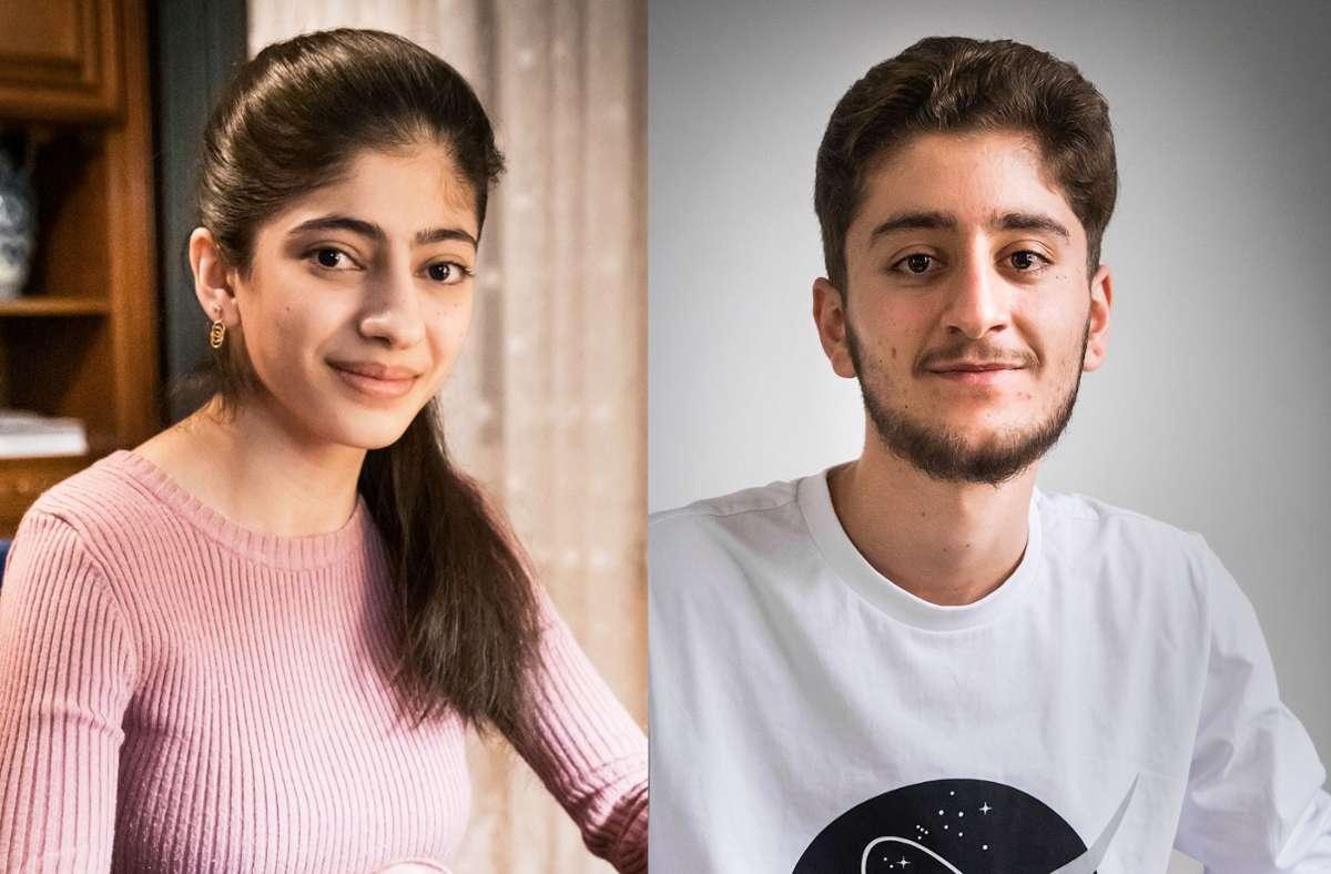 Heza Youssef (links) und Mohammad Altaleb Foto: Lichtgut/Achim Zweygarth