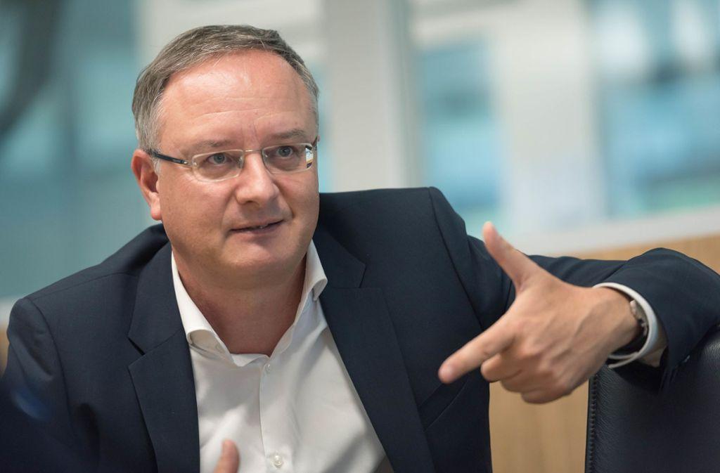 Landeschef Andreas Stoch sitzt im Parteivorstand der SPD. Foto: /Lichtgut/Max Kovalenko