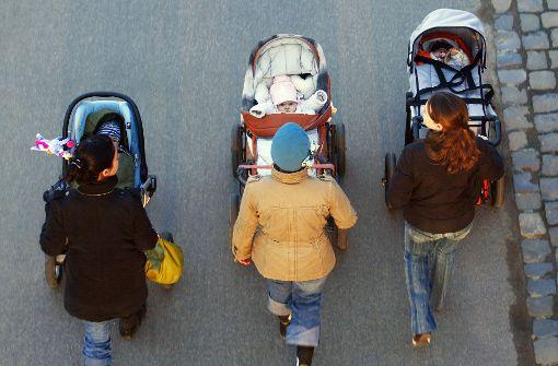 In Deutschland arbeiten mehr Mütter in Teilzeit als anderswo