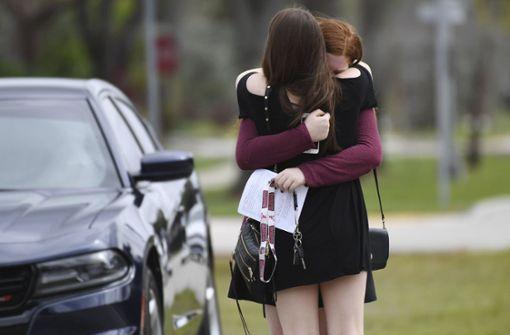 Opfer des Schulmassakers wird von US-Army geehrt