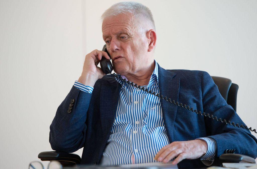 Oberbürgermeister Fritz Kuhn kritisiert Parteikollege  Boris Palmer. Foto: imago images/Lichtgut/Leif-Hendrik Piechowski