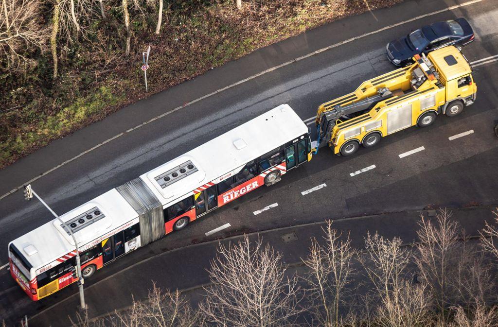 Die SSB erhält Hilfe. Der Stuttgarter Gemeinderat will den Nahverkehrsbetrieb mit einer dicken Finanzspritze flott bekommen. Foto: Lichtgut/Julian Rettig