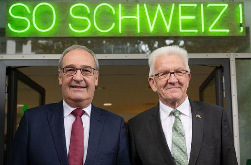 Baden-Württemberg vertieft Beziehung zur Schweiz