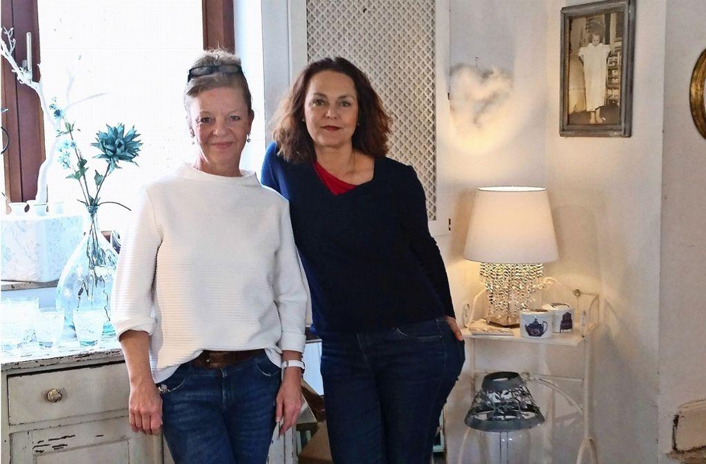 Elisabeth Schnaitmann und Petra Weimer kooperieren ab sofort. Foto: Nina Ayerle