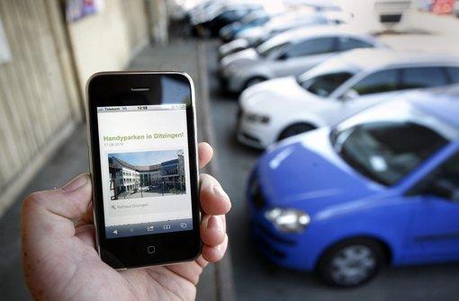 Kommt SMS-Parken aus der Mode?