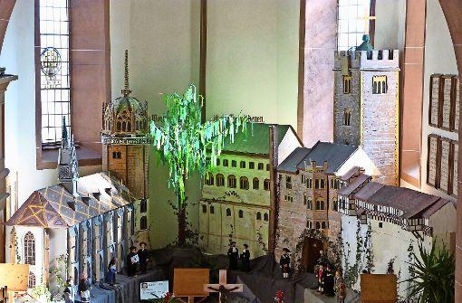 Die Wartburg wandert in die Schleglerstadt