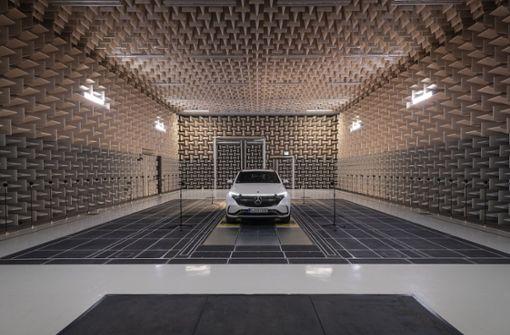 Wie die neuen E-Autos aus Stuttgart zu ihrem Sound kommen