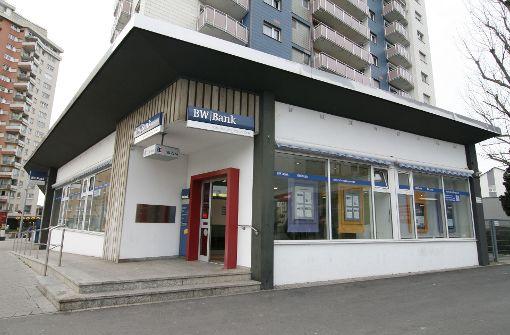 BW-Bank-Filiale In Stuttgart-Rot: Herzlich Willkommen