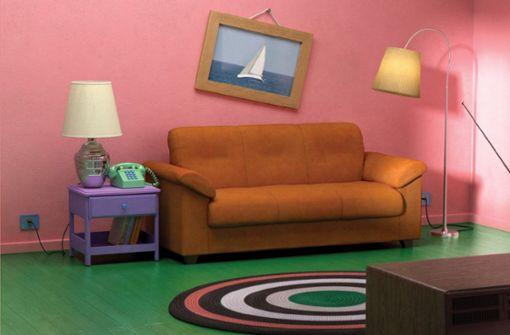 Das legendäre Simpsons-Wohnzimmer gibt es jetzt zu kaufen