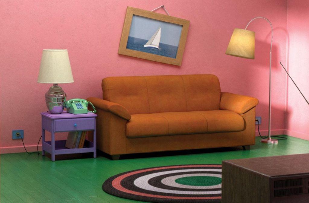 Die Tapete müssen die Fans noch selbst rosa anstreichen, den Rest gibt's im Möbelhaus. Foto: Ikea