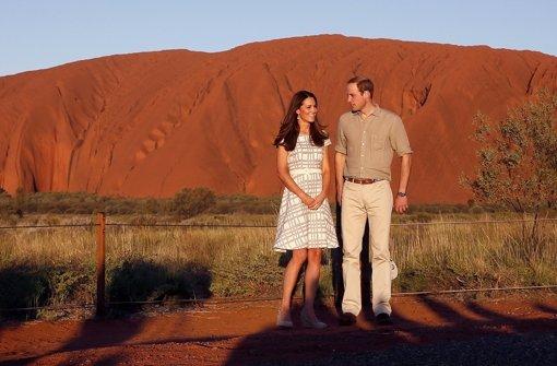 Am heiligen Berg der Aborigines