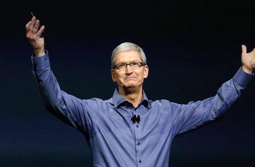 Apple-Chef attackiert EU wegen Steuerentscheid