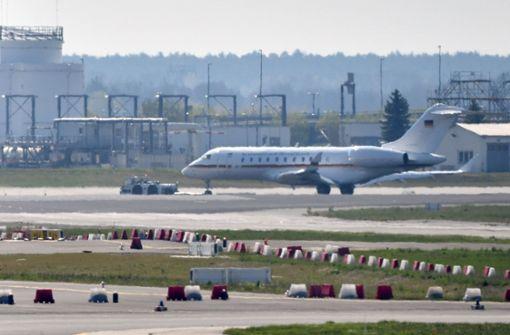 Panne bei Luftwaffen-Jet in Berlin