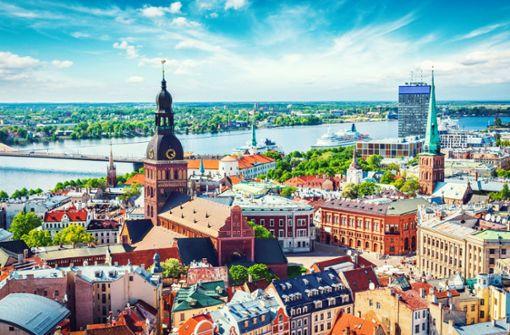 Wie sich in Riga  Moderne und Sowjetzeit verbinden