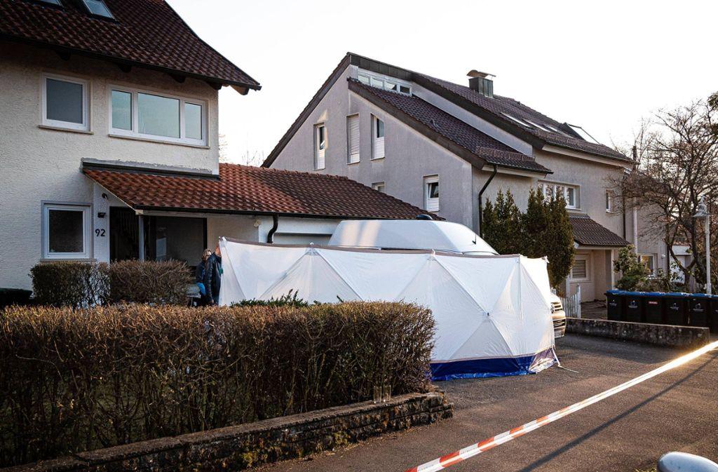 Die Bluttat geschah in Holzgerlingen. Foto: 7aktuell/Marc Gruber