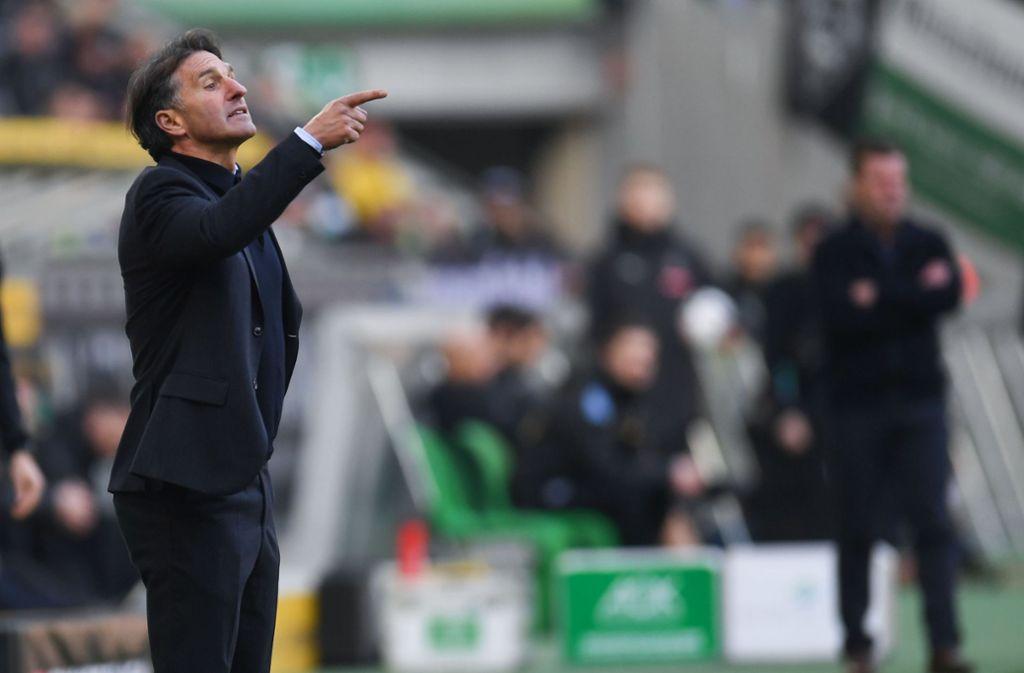 """Bruno Labbadia findet: """"Es gibt im Fußball eine Übersättigung"""". Foto: AFP"""