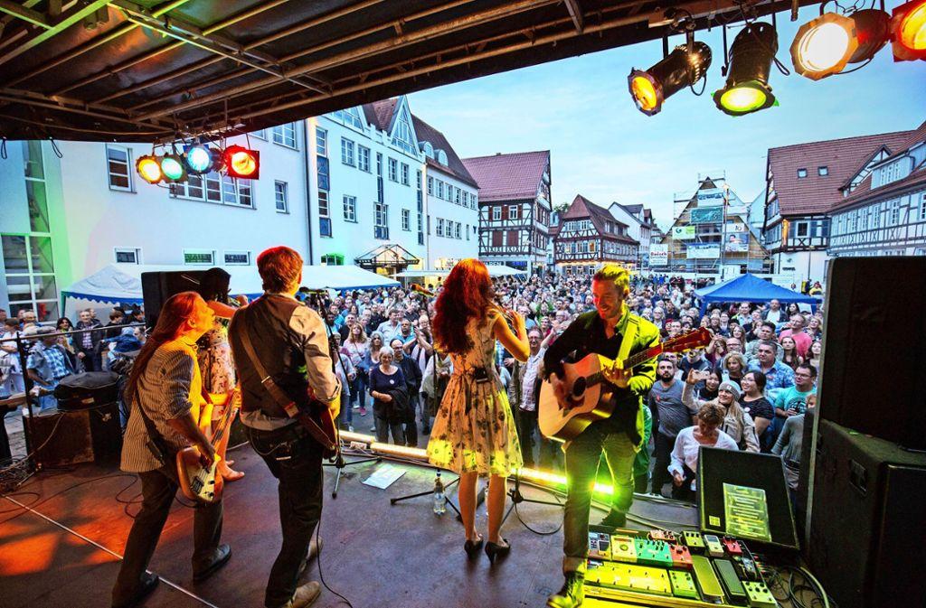 Die  Musiknacht gehört zu den Veranstaltungs-Highlights in Kirchheim. Foto: Michael Steinert