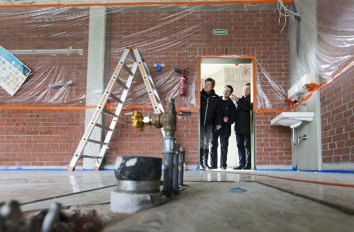 Im Ellental-Gymnasium in Bietigheim wird saniert. Foto: factum/Granville