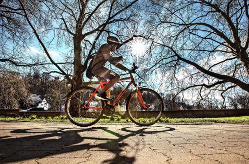Auf dem Fahrradsattel durch die Krise