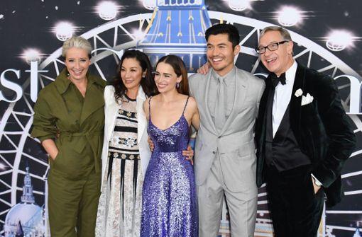 Gut gelaunte Stars feiern Premiere in New York