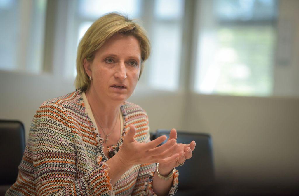 Nicole Hoffmeister-Kraut (CDU) Foto: Lichtgut/Max Kovalenko/Lichtgut/Max Kovalenko