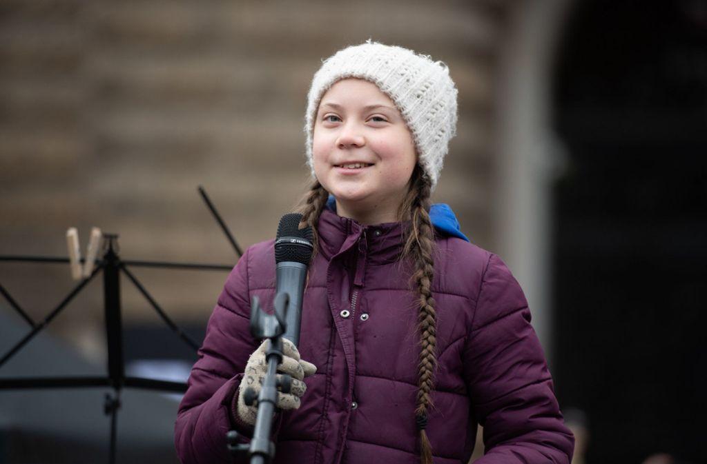 """Klimaaktivistin Greta Thunberg hat die Bewegung """"Fridays for Future"""" ins Leben gerufen. (Archivbild) Foto: dpa"""