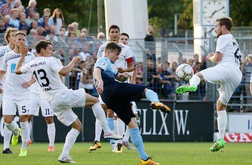 Stuttgarter Kickers spielen unentschieden gegen Ulm