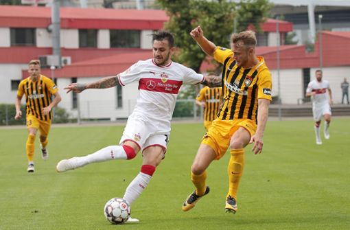 Der VfB steigert sich