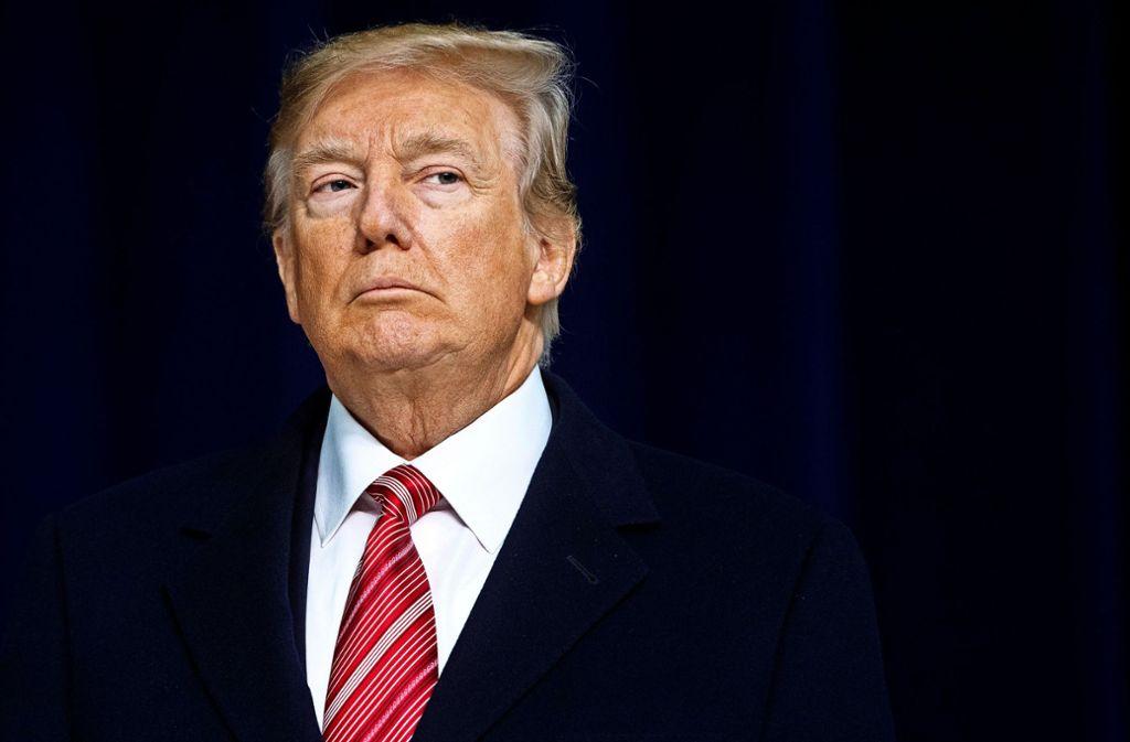 US-Präsident Trump hat seinen Wählern mehr Arbeitsplätze versprochen. Foto: AFP