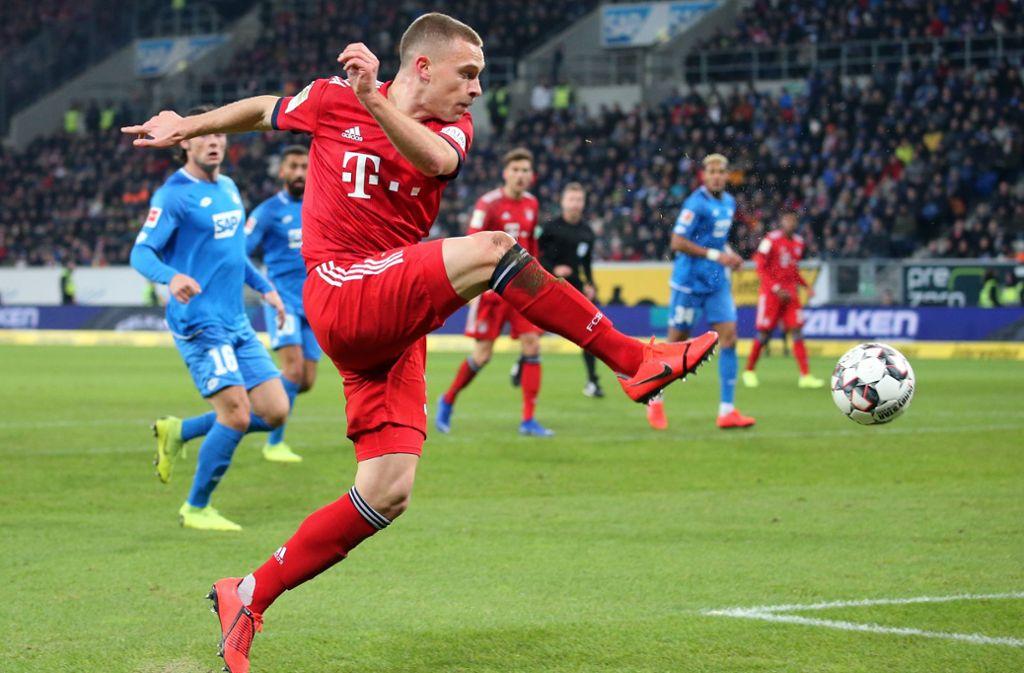 Bayerns künftiger Kapitän: Joshua Kimmich Foto: Baumann
