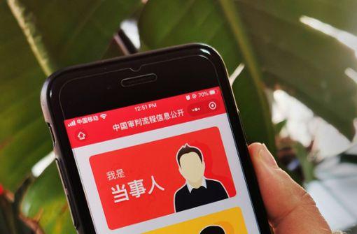 Bezahlen auf chinesische Art