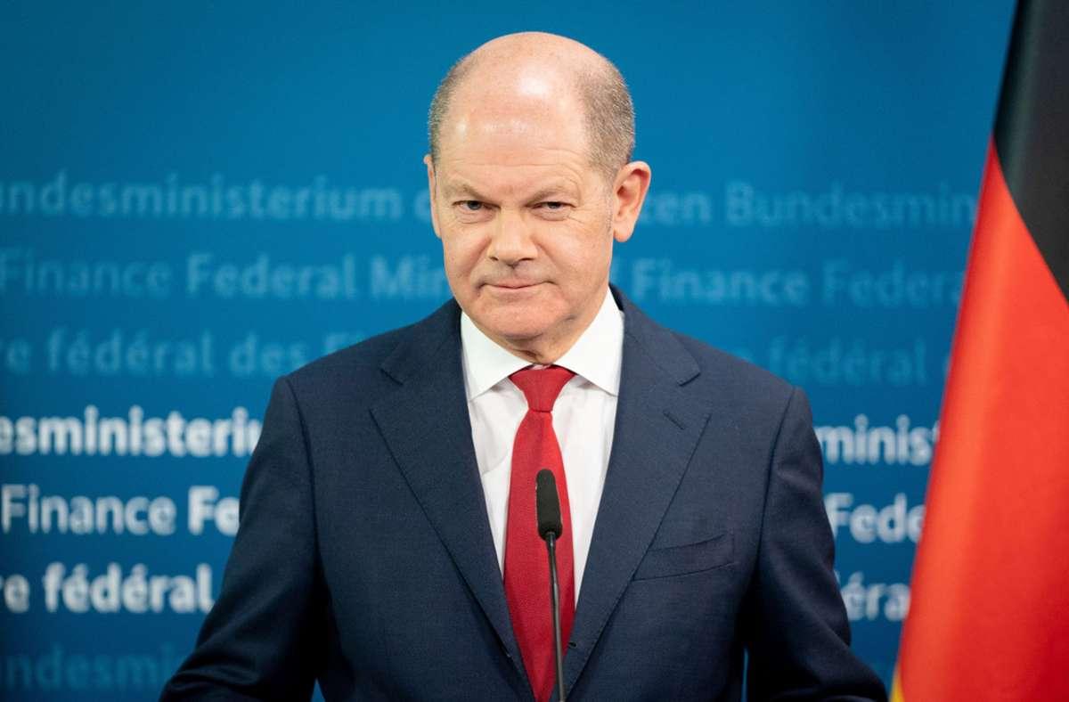 Bundesfinanzminister Olaf Scholz (SPD) hat den EU-Aufbaufonds zusammen mit seinem französischen Amtskollegen entworfen – und sieht ihn nicht nur als einmaliges Kriseninstrument. Foto: dpa/Kay Nietfeld