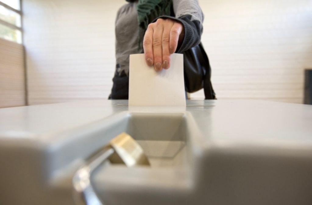 Am Sonntag wählen die Stuttgarter ihren neuen Oberbürgermeister Foto: Steinert