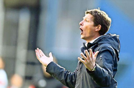 VfB-Gerüchte um Trainer Oliver Glasner
