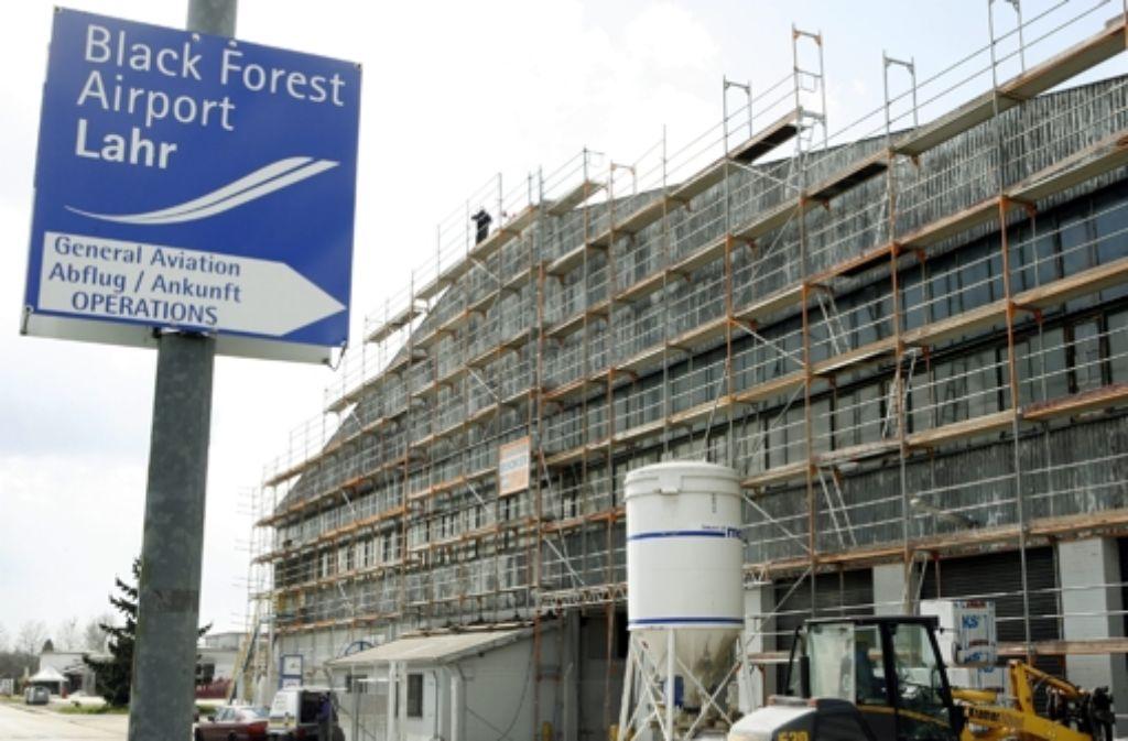 2007 war das Gebäude am Lahrer Flugplatz umgebaut worden Foto: dpa