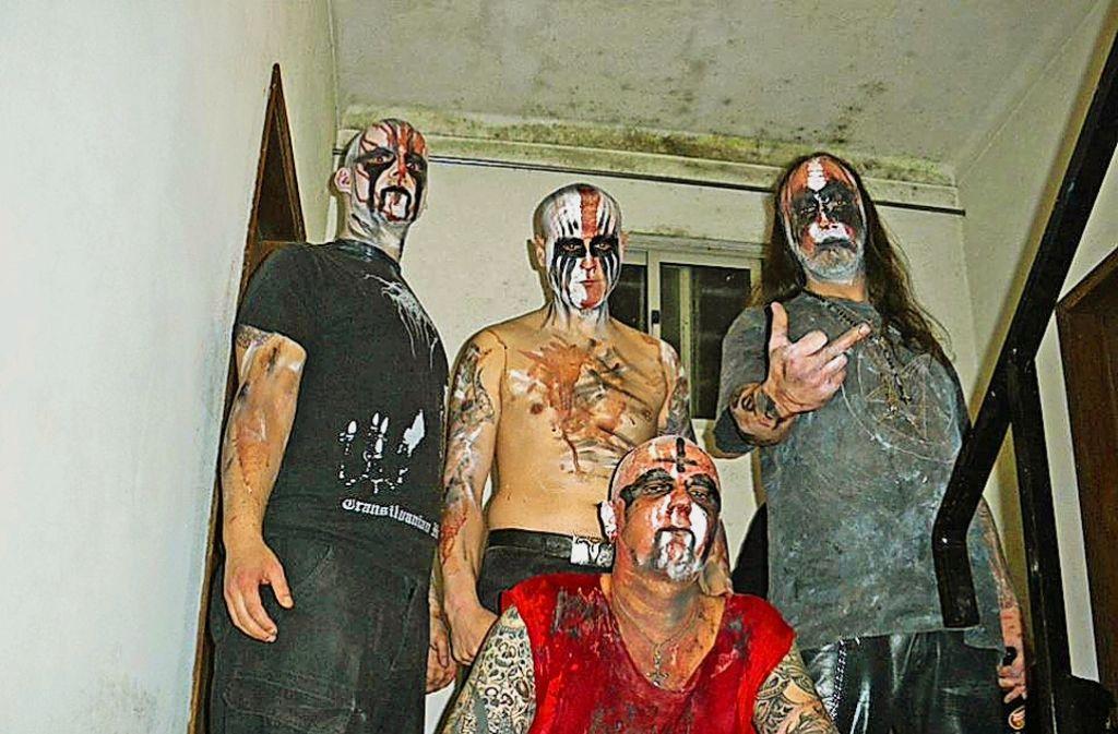 Permafrost stehen für Menschenverachtung und Satanismus. Foto: Facebook Permafrost
