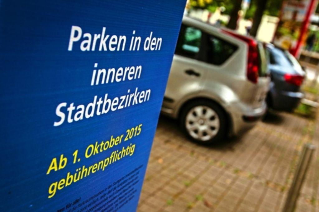 Seit dem 1. Oktober sind die letzten 183 kostenlosen Parkplätze in der Innenstadt Geschichte. Foto: Lichtgut/Leif Piechowski