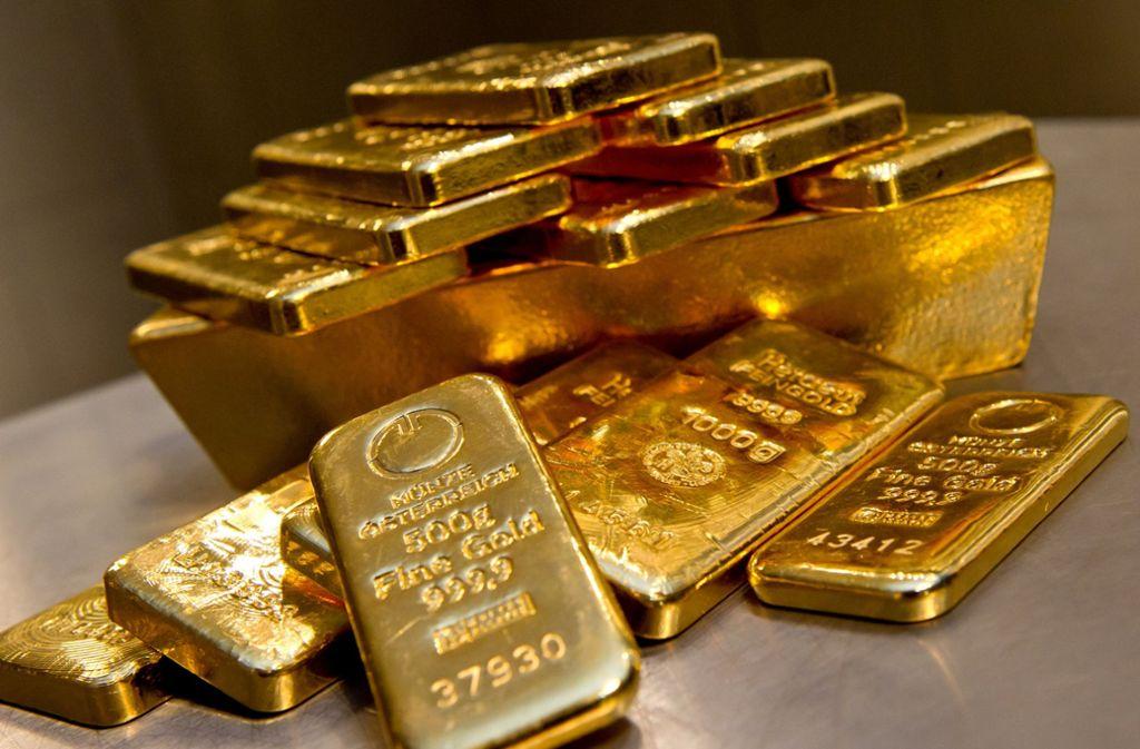 Noch immer weiß man nicht, wie das Gold auf den Spielplatz kam. Foto: dpa (Symbolbild)