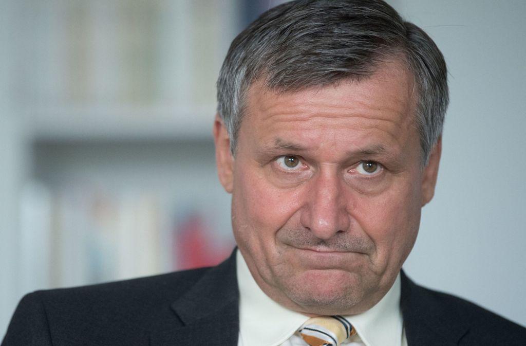 FDP-Fraktionschef Rülke will seine Richterschelte nicht zurücknehmen. Foto: dpa