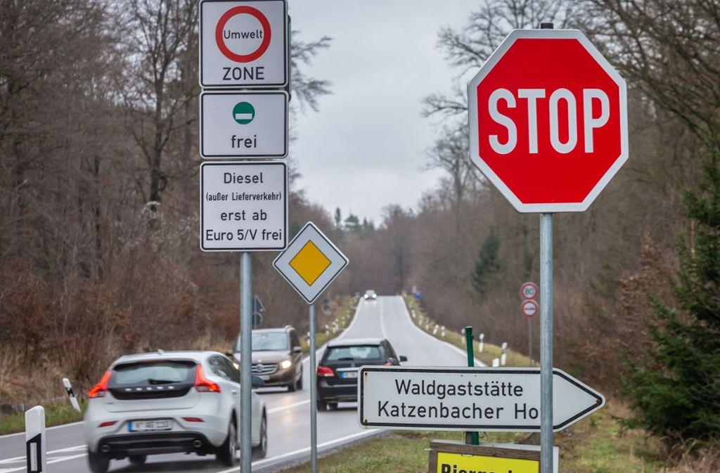 Seit April gilt das Diesel-Fahrverbot bis einschließlich Euro 4 auch für die Stuttgarter. Foto: Lichtgut/Julian Rettig