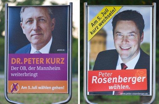 Gelingt Mannheims SPD-OB ein Sieg?