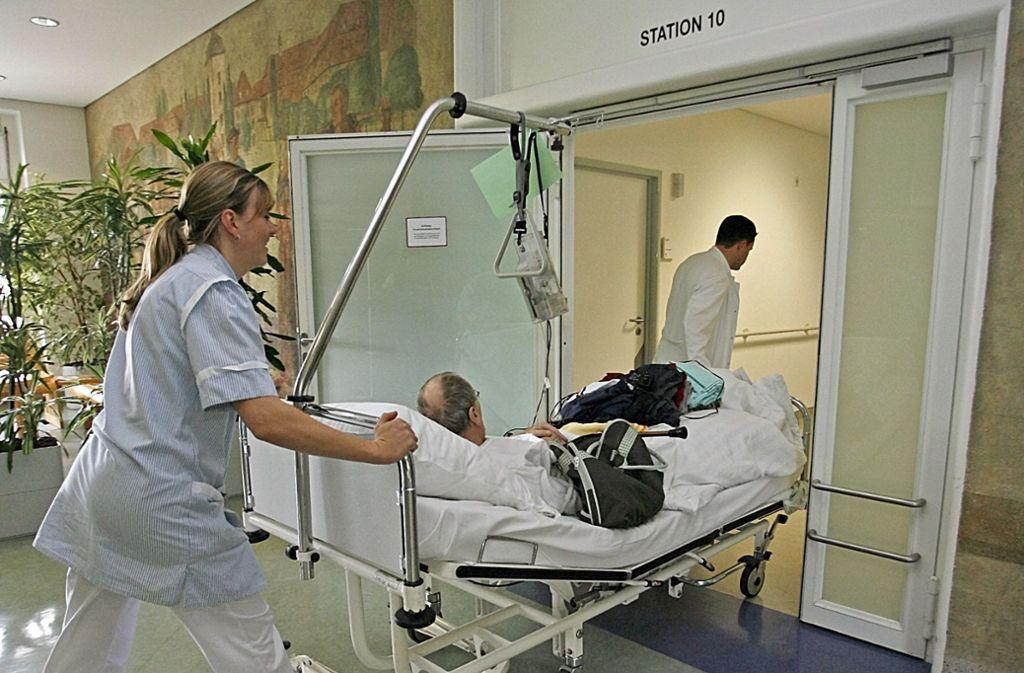 Krankenhausaufenthalte sind für die meisten Patienten so schon schlimm genug. Manche werden jetzt auch  noch beklaut. (Symbolbild) Foto: dpa