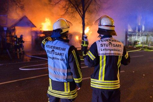 Biergarten am Killesberg brennt ab