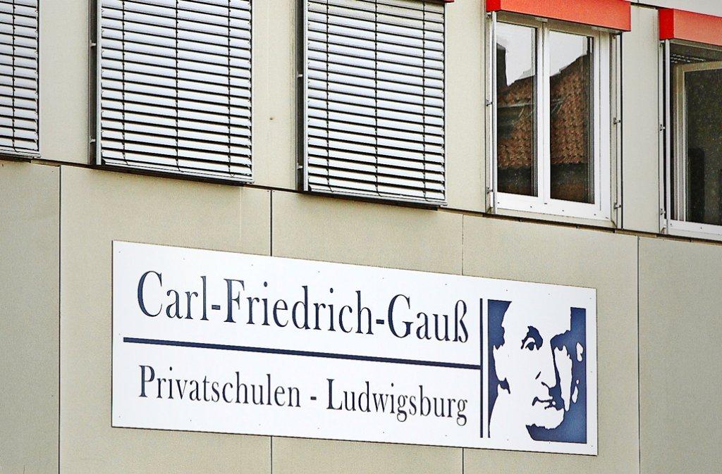 """Die Carl-Friedrich-Gauß-Schule in Ludwigsburg kämpft gegen den Aderlass. """"Wir wollen nur normal Unterricht machen"""", sagt der Schulleiter. Foto:"""