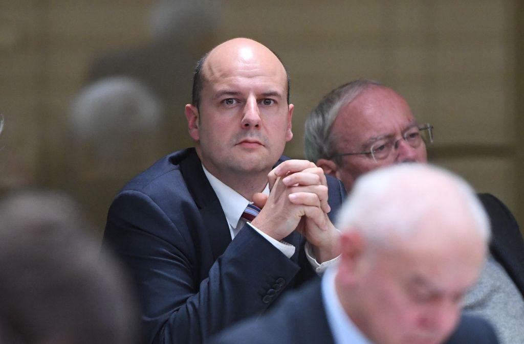 Der Abgeordnete Räpple ist in der Stuttgarter AfD-Fraktion nicht unumstritten. Foto: dpa
