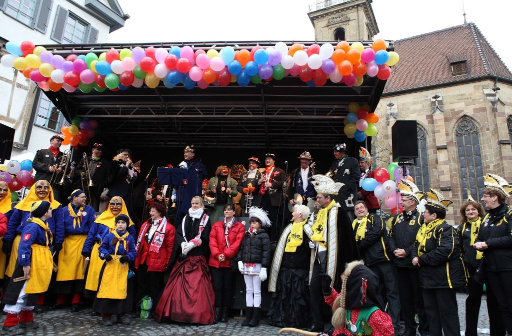Am Donnerstag ist wieder närrischer Wochenmarkt Foto: Jan Reich/lichtgut (Archiv)