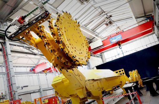 Auch  ohne Zechen: deutsche Bergbau-Maschinen sind gefragt