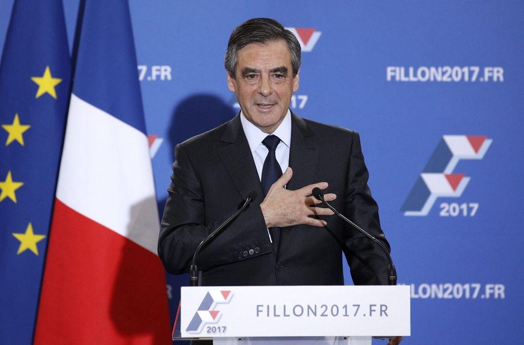 François Fillon richtet den Blick schon nach vorne und ruft zur Einheit der Konservativen auf. Foto: EPA