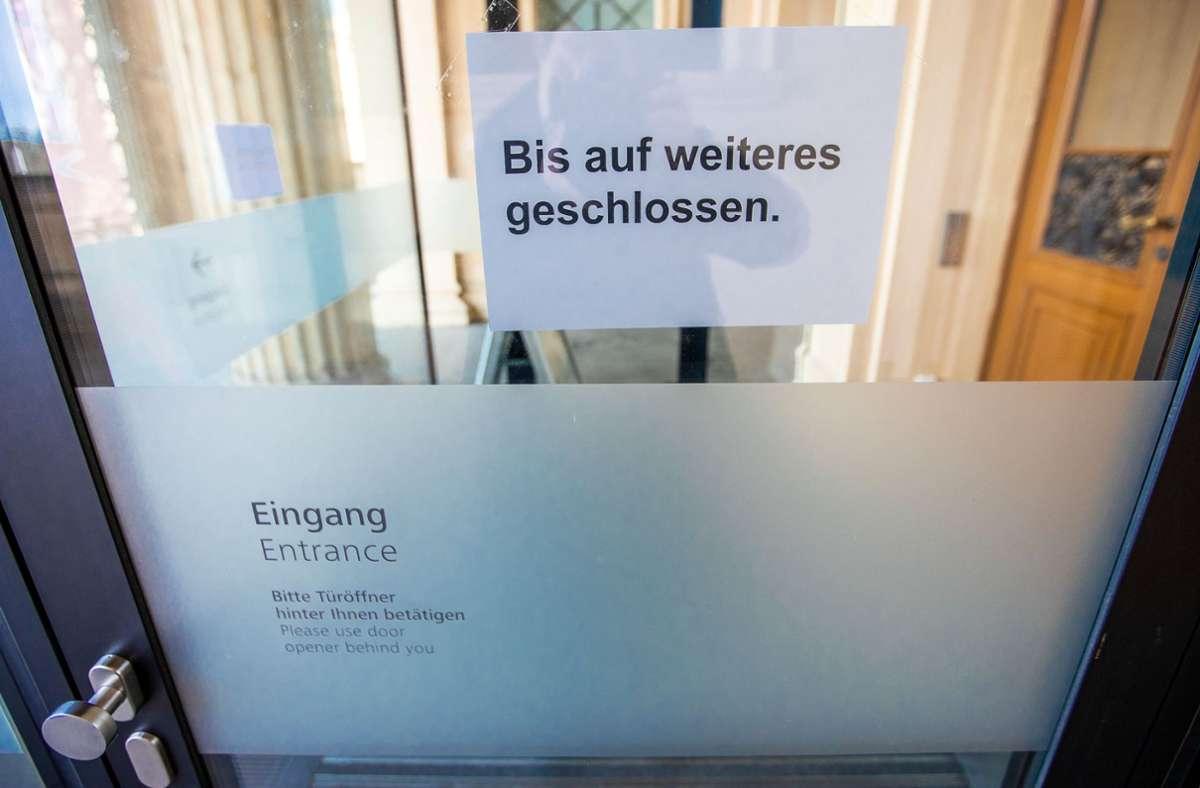 Schulen   bleiben in Stuttgart geschlossen. Foto: dpa/Jens Büttner